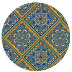 estampado azulejo