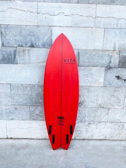 Tabla surf VITA en stock gt fish roja