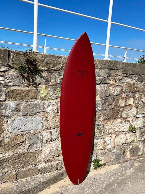 Tabla surf VITA barata en stock Twin Rudder 6'0