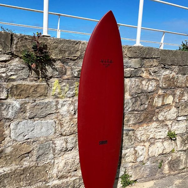 Tabla surf VITA barata en stock Twin Rudder 6'0