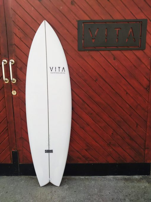 Tabla surf VITA GT Fish 5 10 stock sublime shape