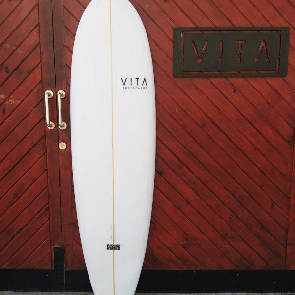 tabla iniciacion surf VITA octopus alma blanca