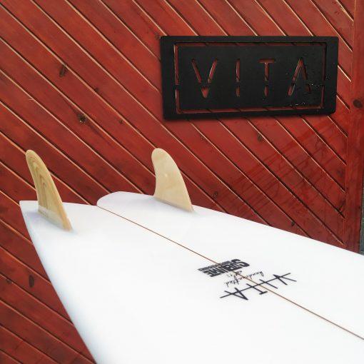 Tabla surf fish VITA quilla fija madera